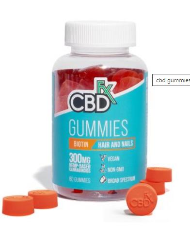 CBD Gummies with Biotin